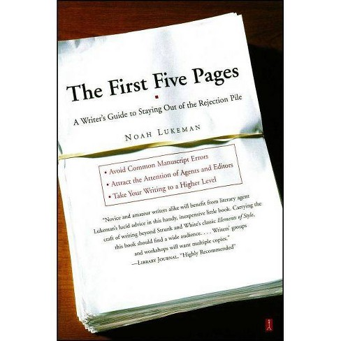The First Five Pages - by  Noah Lukeman (Paperback) - image 1 of 1