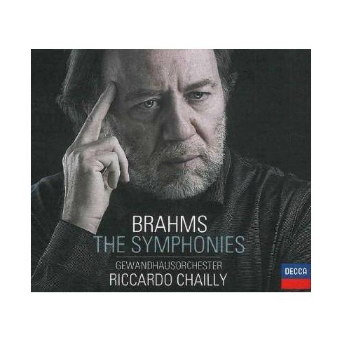 Riccardo Chailly - Brahms: The Symphonies (CD) - image 1 of 1