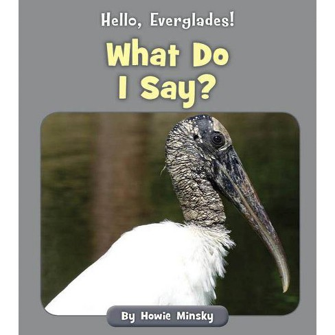 What Do I Say? - (Hello, Everglades!) by  Howie Minsky (Paperback) - image 1 of 1