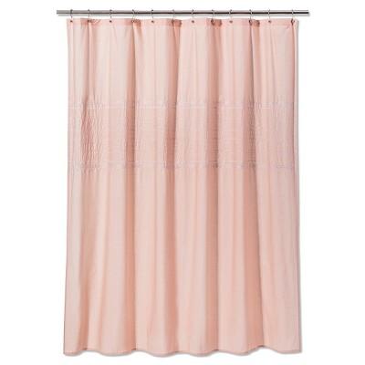 Solid Shower Curtain Prairie Peach - Threshold™