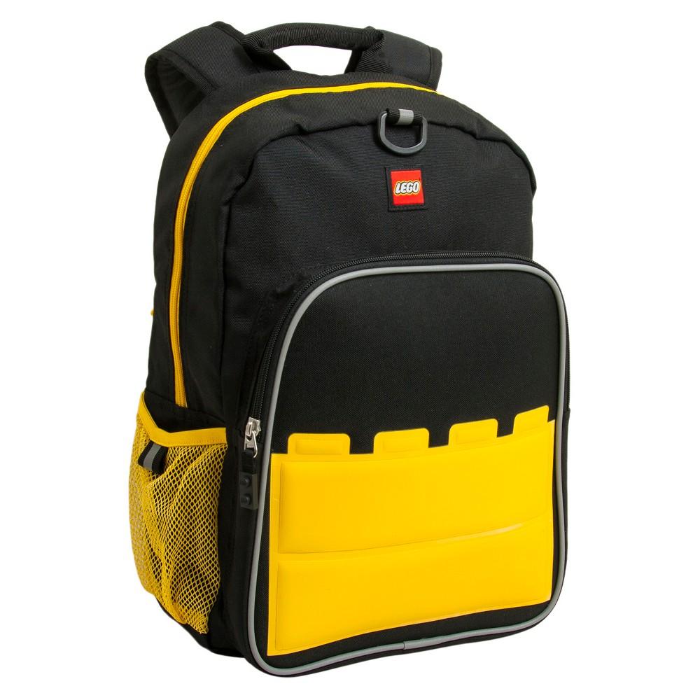 Lego Big Brick Eco Heritage Classic Kids' Backpack, Black