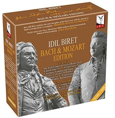 Idil Biret - Idil Biret:Back & Mozart Edition (CD) - image 1 of 1