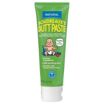 Boudreaux's Paste (Natural)Diaper Rash Cream - 4oz