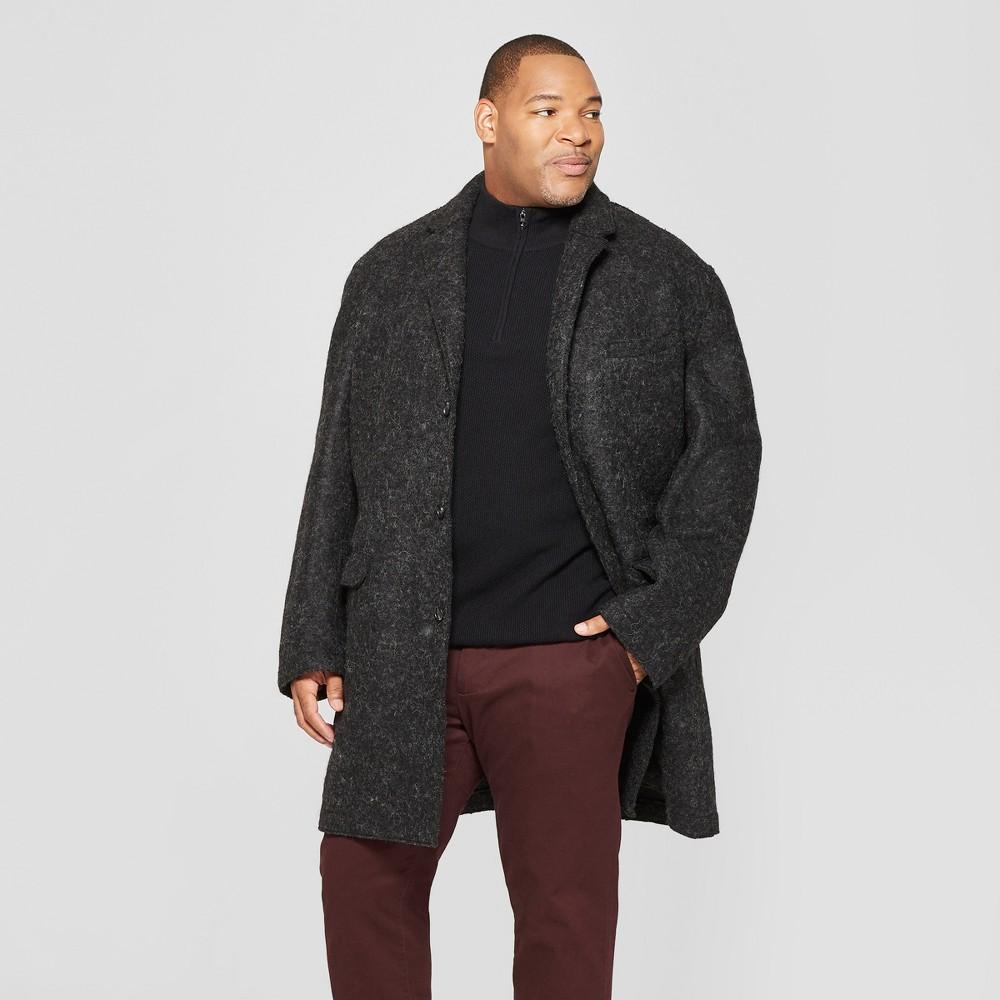 Men's Big & Tall Unlined Top Overcoat - Goodfellow & Co Gray 4XBT