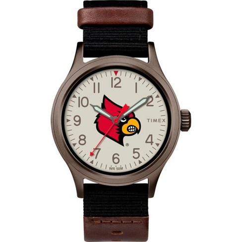 NCAA Louisville Cardinals Tribute Collection Clutch Men's Watch - image 1 of 1