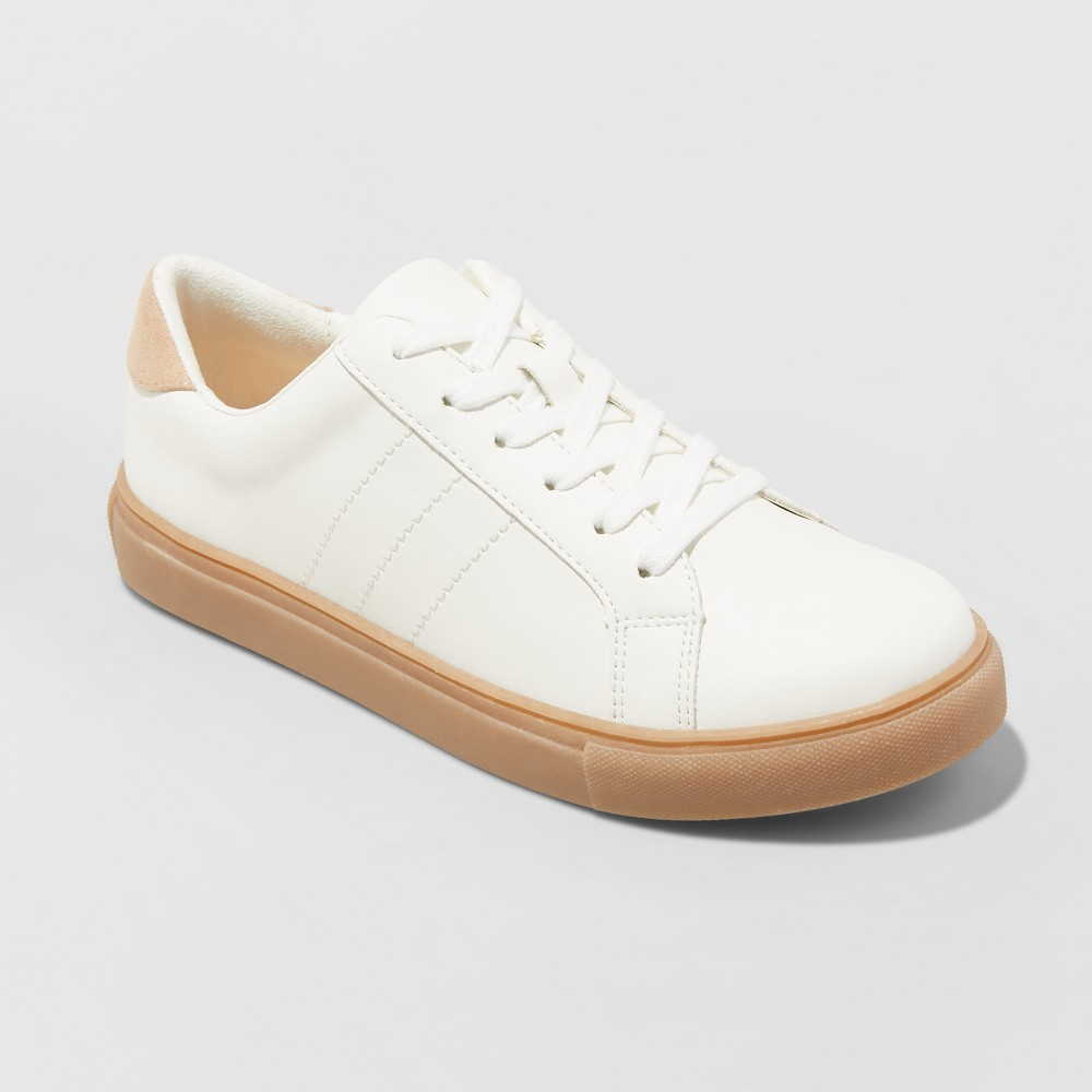 Women's Cadori Lace up Sneakers - Universal Thread White 9