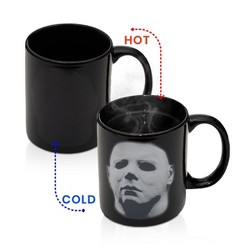 Surreal Entertainment Michael Myers Halloween Coffee Mug | Heat Changing Coffee Cup | Holds 11 Oz.