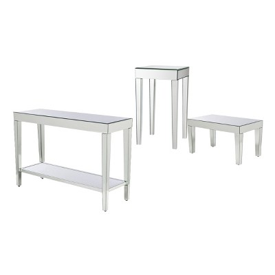 Mirrored Accent Tables Collection