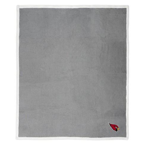 NFL Arizona Cardinals Waffle Trend Throw Blanket - image 1 of 3