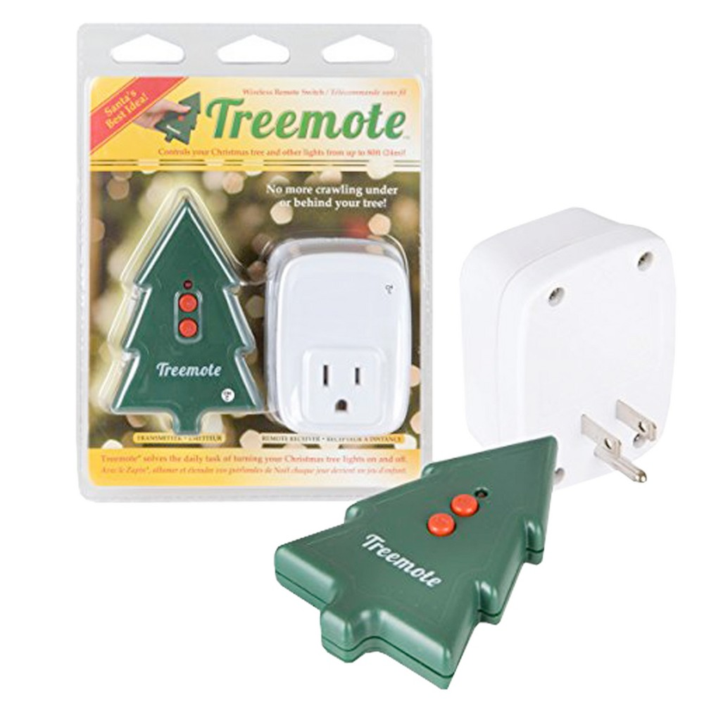 Image of Treemote Wireless Remote for Christmas Trees, Green