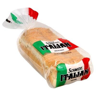 Schmidt Italian Seeded Enriched Bread - 20oz
