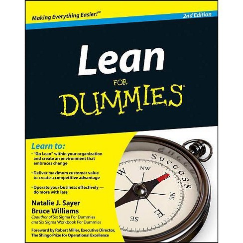 Lean for Dummies - (For Dummies) 2 Edition by  Natalie J Sayer & Bruce Williams (Paperback) - image 1 of 1