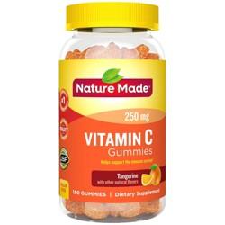 Nature Made Vitamin C 250 mg Gummies - Tangerine - 150ct