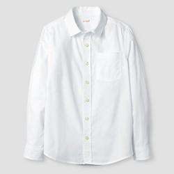 db904941 Boys' Long Sleeve Button-Down Oxford Shirt - Cat & Jack™ White