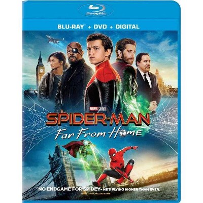 Spider-Man: Far From Home (Blu-ray + DVD + Digital)