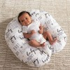 Boppy Newborn Lounger, Hello Baby - White - image 3 of 4