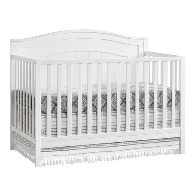 Oxford Baby North Bay 4-in-1 Convertible Crib - Snow White