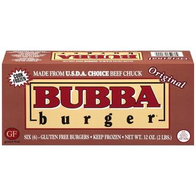 Bubba Burger Beef Patties - Frozen - 32oz