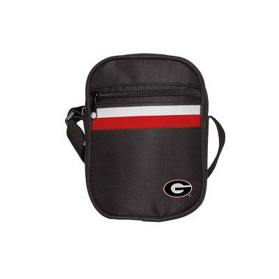 NCAA Georgia Bulldogs Black Mini Messenger Bag
