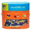 Crocodile Creek Discover: World Map Puzzle 100pc - image 2 of 4