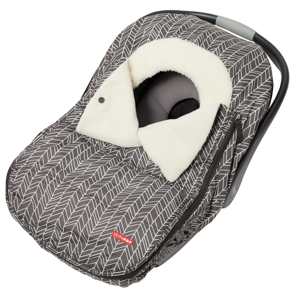 Image of Skip Hop Stroll & Go Car Seat Cover - Gray Feather