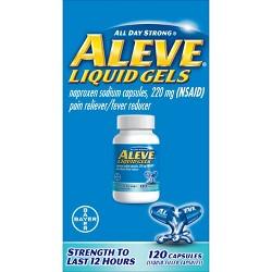 Aleve Naproxen Liquid Gels - Naproxen Sodium (NSAID)