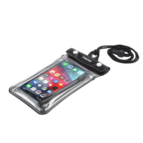 """Insten Universal Floating IPX8 Waterproof Phone Dry Bag Pouch Case For iPhone & All Smartphones Up to 6.8"""" x 3.5"""" - image 1 of 4"""