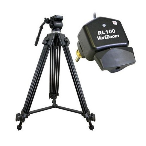 VariZoom Video Camera Tripod Lanc Control Kit, Includes VZTK75A Tripod System, VZRL100 Lens Control for LANC Cameras - image 1 of 4
