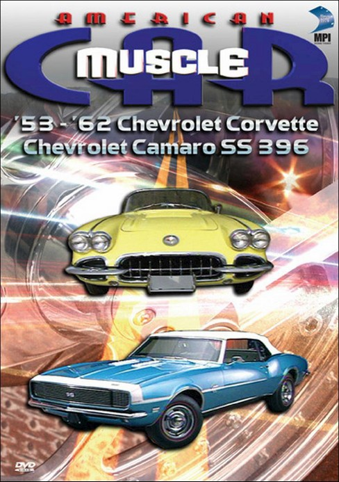 American muscle car:'53-'62 chevrolet (DVD) - image 1 of 1
