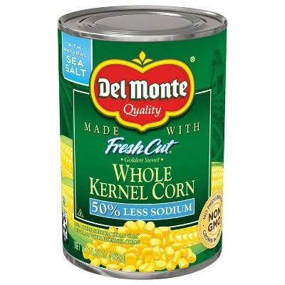 Del Monte Low Salt Whole Kernel Corn 15.25oz