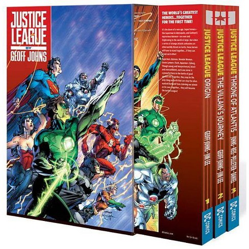 Justice League by Geoff Johns Box Set Vol. 1 - (Paperback) - image 1 of 1