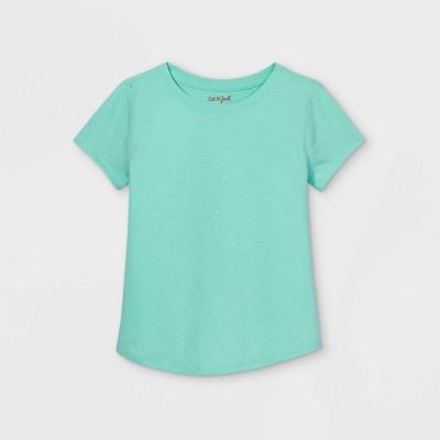 Girls' Sparkle Short Sleeve T-Shirt - Cat & Jack™