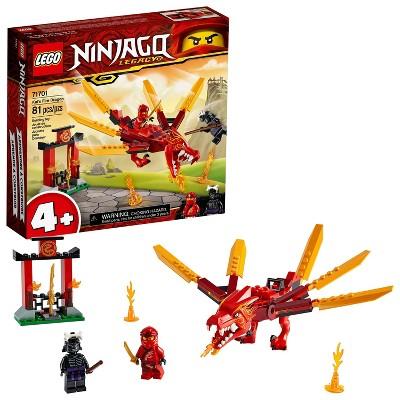 LEGO NINJAGO Legacy Kai's Fire Dragon Building Kit 71701