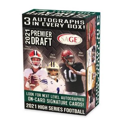 2021 NFL Sage High Football Trading Card Blaster Box