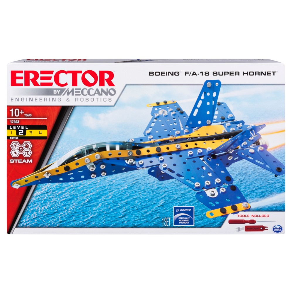Meccano Boeing F18, Toy Vehicles Meccano Boeing F18 Gender: Unisex.