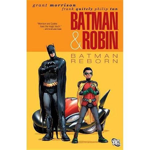 Batman & Robin Vol. 1: Batman Reborn - (Batman & Robin (Paperback)) by  Grant Morrison (Paperback) - image 1 of 1