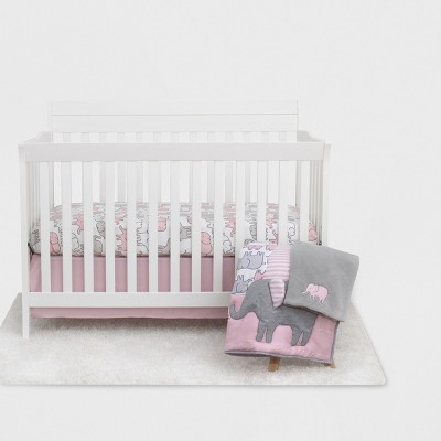 Elephant Crib Bedding Set - Just One You® made by carter's - Pink - 4pc
