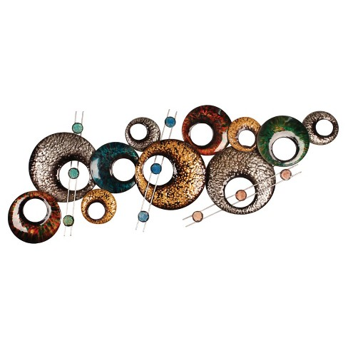 Wall Decor-Multi Circles - Home Source - image 1 of 1