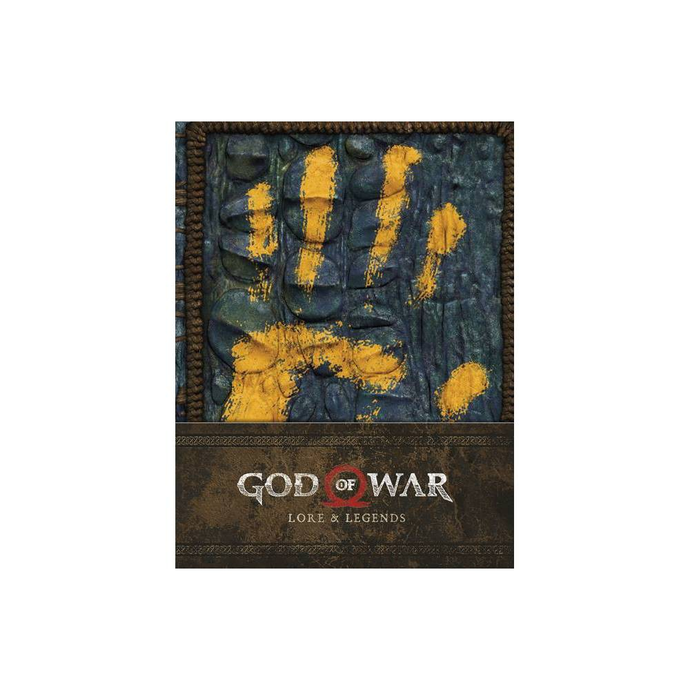 God Of War Lore And Legends By Rick Barba Hardcover
