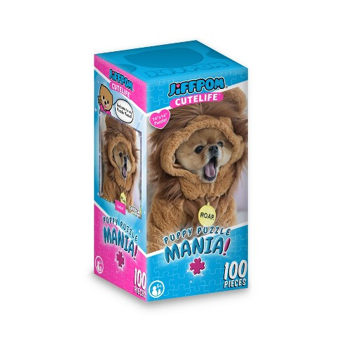 JiffPom Safari Puzzle 100pc - image 1 of 1