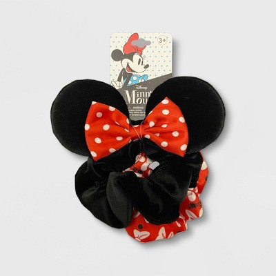 Girls' Minnie Mouse Scrunchies