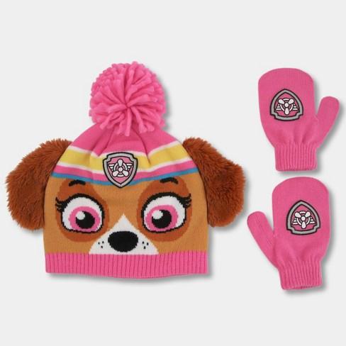 b3eb731b6f6a2 Toddler Girls  PAW Patrol Hat And Mitten Set - Pink One Size   Target