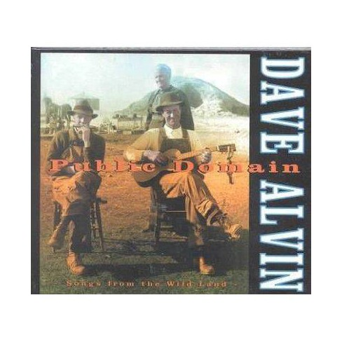 Dave Alvin - Public Domain: Songs From The Wild Land (CD) - image 1 of 1