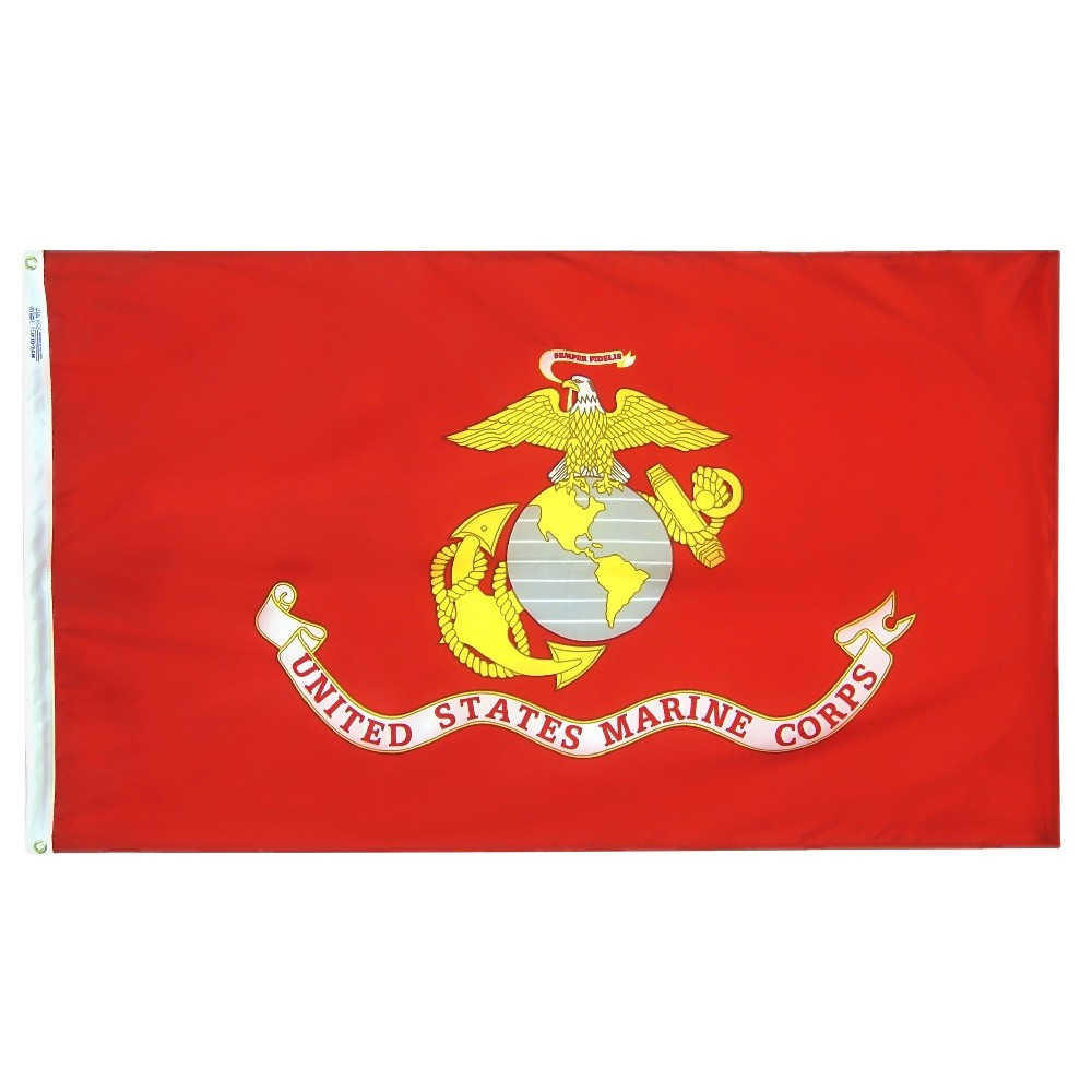 Image of Halloween US Marine Corps - 3' x 5', Blue