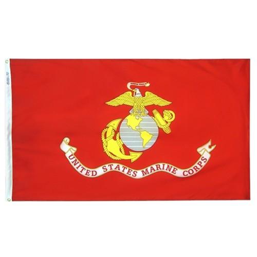 Halloween US Marine Corps - 3' x 5', Blue