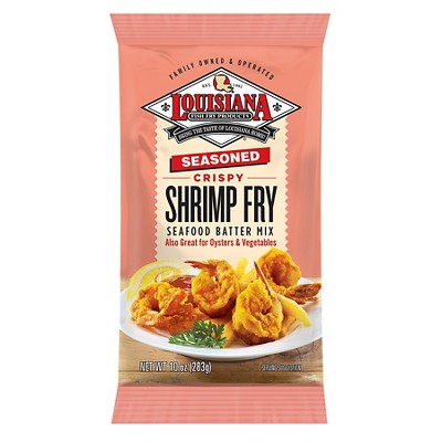 Louisiana Seasoned Crispy Shrimp Fry Batter Mix - 10oz