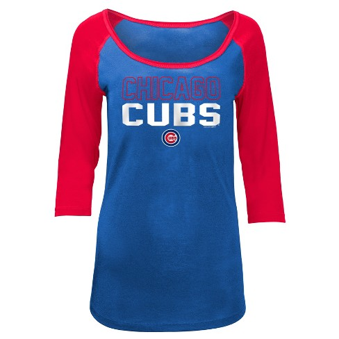 quality design aac82 222bc Chicago Cubs Women's Play Ball Fashion Jersey - S