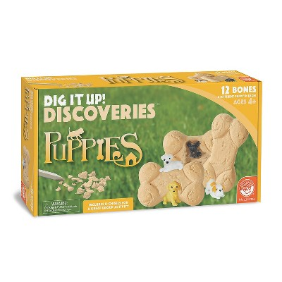 MindWare Dig It Up! Discoveries: Puppies - Science and Nature - 13 Pieces