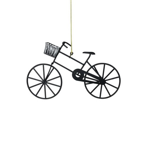 Northlight 625 Black And Silver Vintage Style Bicycle Christmas
