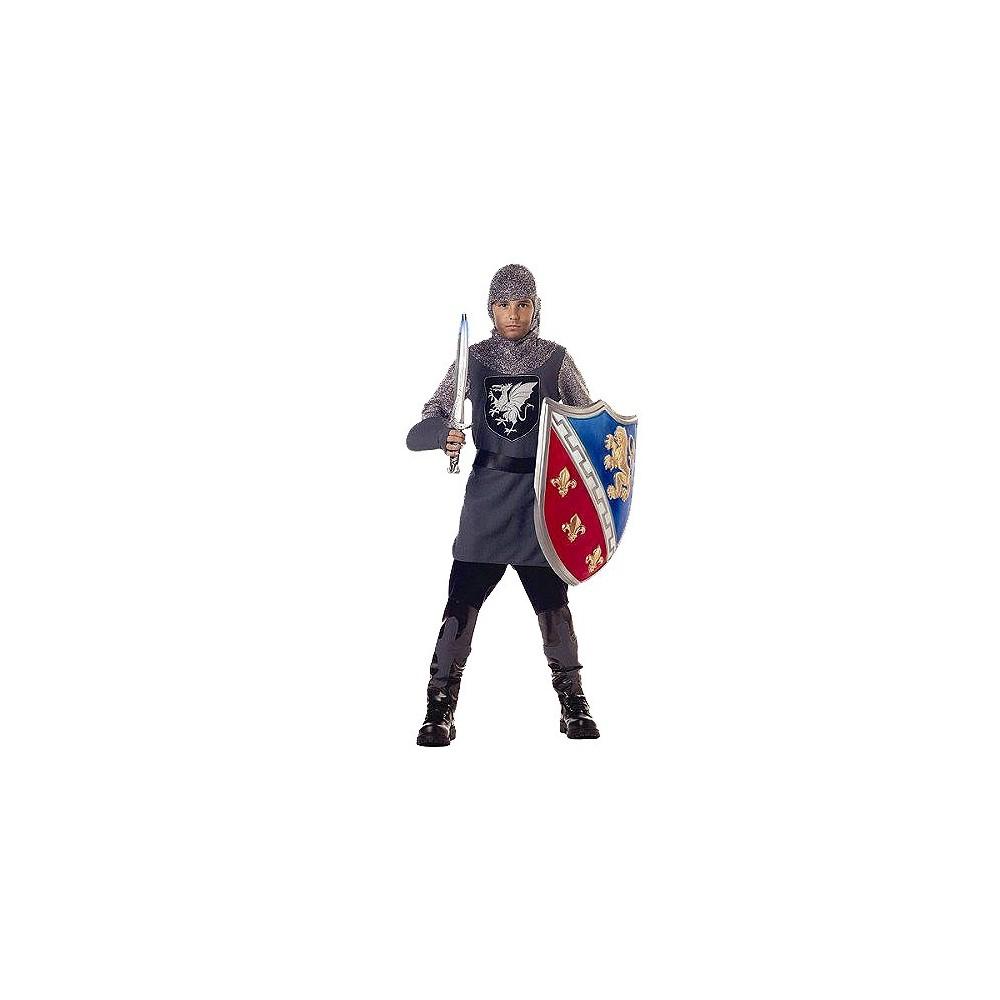 Image of Halloween Boys' Valiant Knight Costume - Small (4-6), Boy's, Size: Small(4-6)